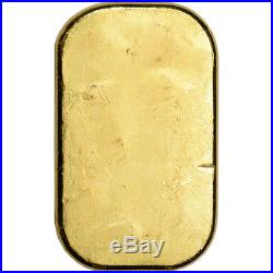 100 gram Gold Bar PAMP Suisse Poured 999.9 Fine with Assay
