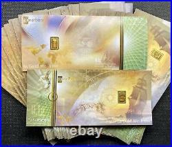 (10) KaratBar KaratPay Cash Gold 0.1 Gram Bar 24KT. 9999 Fine Nadir Gold (BU)