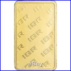 10 gram IGR Gold Bar Istanbul Gold Refinery 999.9 Fine in Sealed Assay
