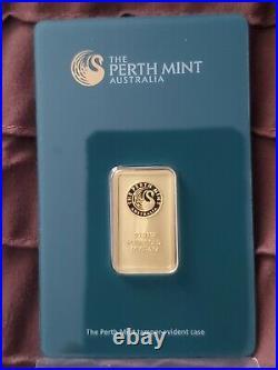 10 gram Perth Mint Gold Bar 99.99 Fine in Assay