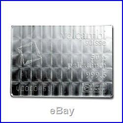 1 Gram Valcambi. 9995 Fine Palladium Bar Bu + 10 Piece Alaskan Pure Gold Nuggets