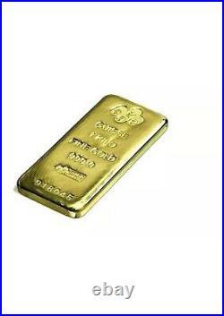 1 Kilo (32.15 Troy Ounces) Pamp Suisse. 9999 Fine Gold Bar