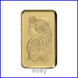 1 gram Gold Bar PAMP Suisse Fortuna 999.9 Fine Box of 25