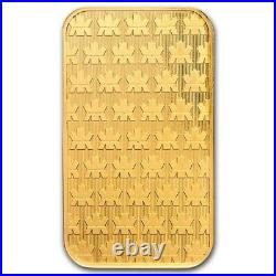 1 oz. 9999 Fine Gold Bar Royal Canadian Mint (New Style, In Assay Card)