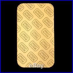 1 oz Credit Suisse Gold Bar. 9999 Fine In Assay