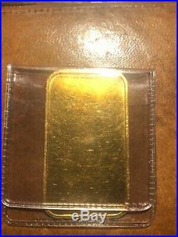 1 oz Fine Gold Bar Engelhard Canada Maple Scarce Rare