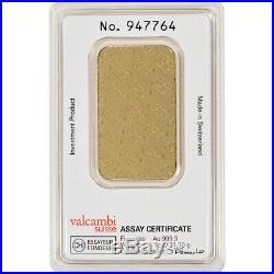 1 oz. Gold Bar Credit Suisse 99.99 Fine in Assay