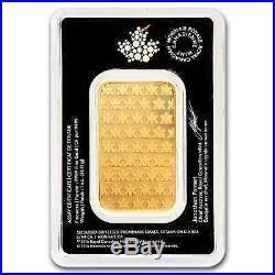 1 oz Gold Bar Royal Canadian Mint RCM. 9999 Fine Gold Sealed in Assay