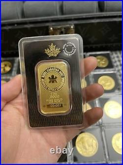 1 oz. Gold Bar Royal Canadian Mint (RCM). 9999 Fine in Assay