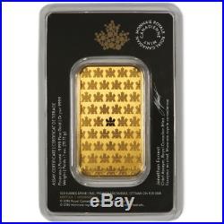 1 oz RCM Royal Canadian Mint Gold Bar. 9999 Fine Sealed In Assay