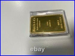 1oz Baird & Co Bullion Merchants, London. 999.9 Fine Gold Bar