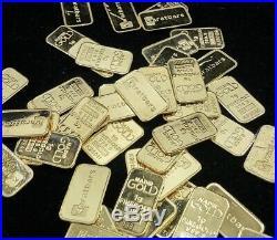 (2) 1 Gram Gold Bars 999.9 Karatbars Fine Gold Karat Bar K15