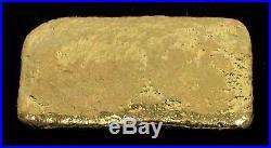 2 Oz Gold Skull And Cross Bones. 999 Fine Ingot /bar