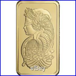 50 gram Gold Bar PAMP Suisse Fortuna 999.9 Fine in Sealed Assay