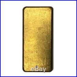 5 oz Engelhard Gold Vintage Loaf Style Bar. 9999 Fine