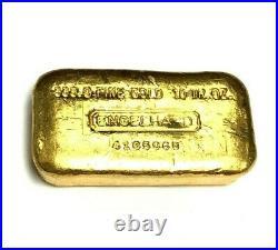 999.9 fine gold ENGELHARD 10oz FINE BAR