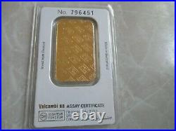 Credit Suisse 1 oz Fine Gold Bar 999.9 with Assay SEALED NON-SMOKING