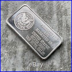 Engelhard 1oz Platinum Bar. 999 Fine United States Silver Corp Seldom Seen