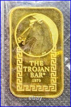 Johnson Matthey Trojan Horse Gold 1/2 Oz Bar. 9999 Fine Ultra Rare #004723
