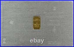 Karatbars Gold 1 Gram 999.9 Fine Bar In Luck Metal Credit Card