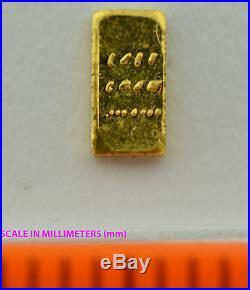 LOT OF 100 0.10 (1/10) GRAM SOLID GOLD BAR. 999 24k GOLD FINE BULLION SAVE