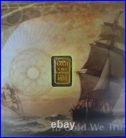 Nadir Cashgold 25 x 0.1g Gram Gold Bar Fine 999 Pure 24 Carat