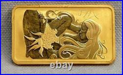 Perth Mint 1 OZ 99.99 Fine Gold Bar! NO RESERVE! FREE SHIPPING