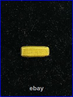 Rare Phoenix Precious Metals 1 Troy Oz. 999 Fine Gold Poured Bar