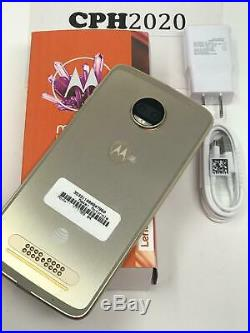Unlocked Motorola Moto Z2 Force XT1789 4G LTE AT&T 64GB Fine Gold GSM Phone