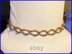 Victorian Gold Filled Bracelet with Jeweled Double MOP Book Fob & T Bar